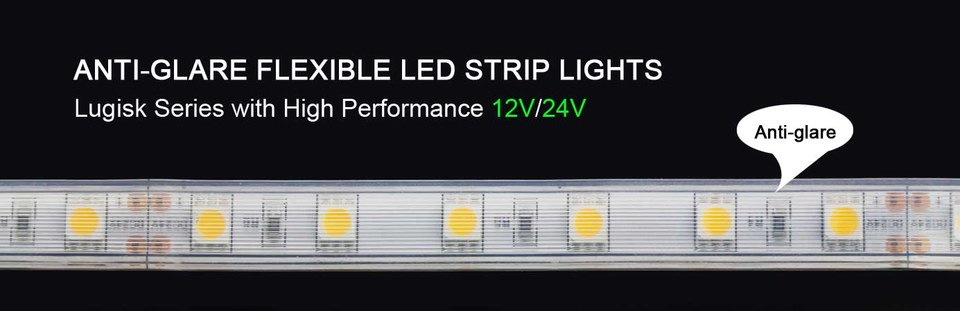 anti-glare led strip light