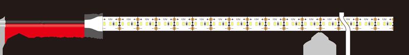 2216 240leds 12v led strip lights dimension