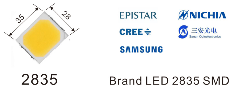 2835 led strip lights brand