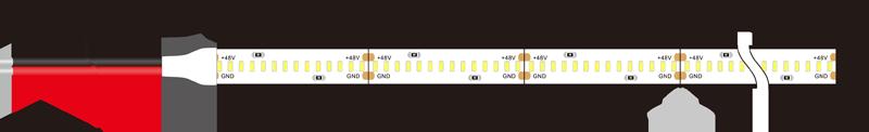 3014 280leds 48v led strip lights dimension