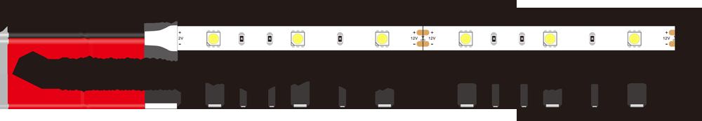5050 30leds 12v led strip lights dimension