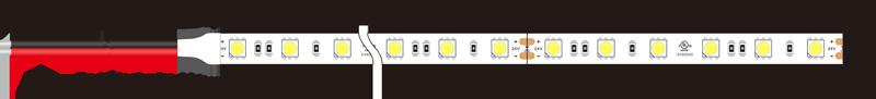 5050 60leds 24v led strip lights dimension