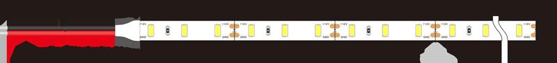 SAMSUNG 5630 60leds 12v led strip lights dimension