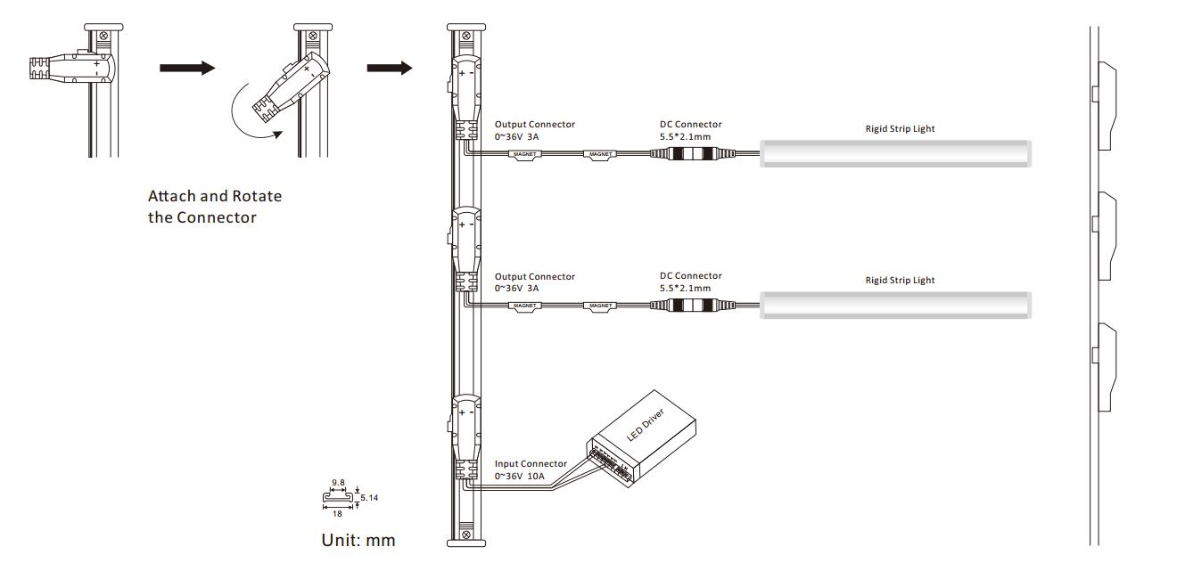 led-strip-lights-dc-power-track