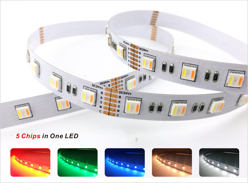rgbcct led strip lights color consistency 3 step color tolerance control