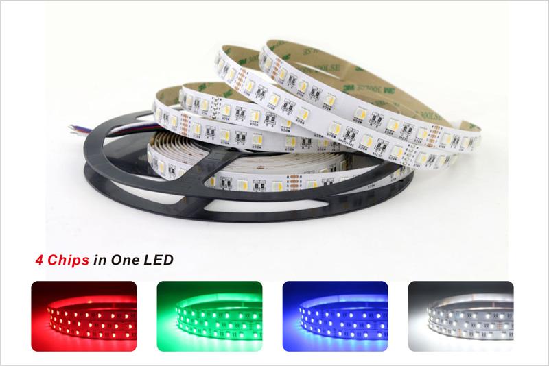 rgbw led strip lights color consistency 3 step color tolerance control