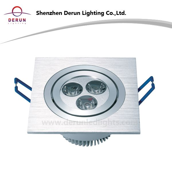 3W 9W Square LED Downlight_1