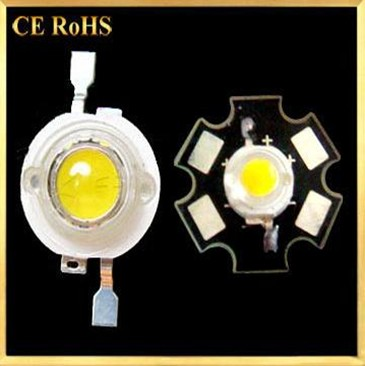 1W and 3W High Power LED in White and Warm white color