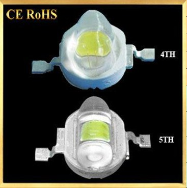 The 4th and 5th generation High Power LED for Street Lights