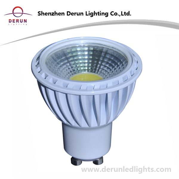 5W COB LED Bulb in GU10 Base