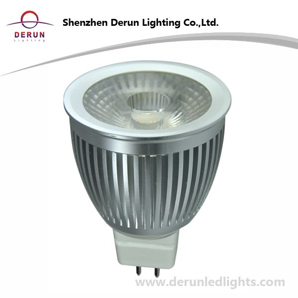 7W COB LED Bulb in MR16 Base