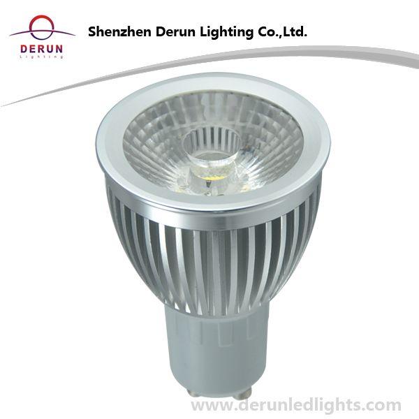 7W COB LED Bulb in GU10 Base