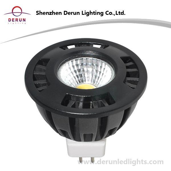 5W COB LED Bulb in MR16 Base