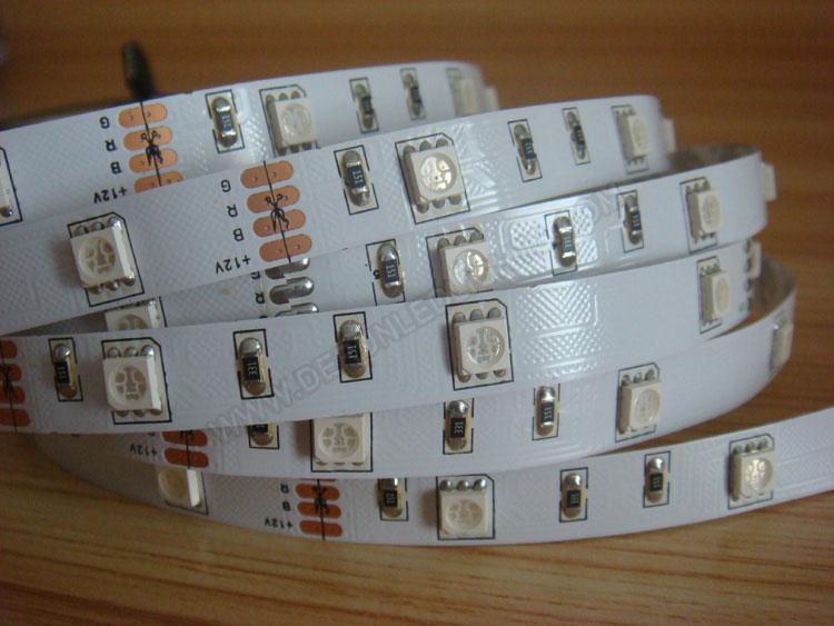 5050 36W 12V 150 Diodes 16.4ft Roll RGB Led Strip Light_3