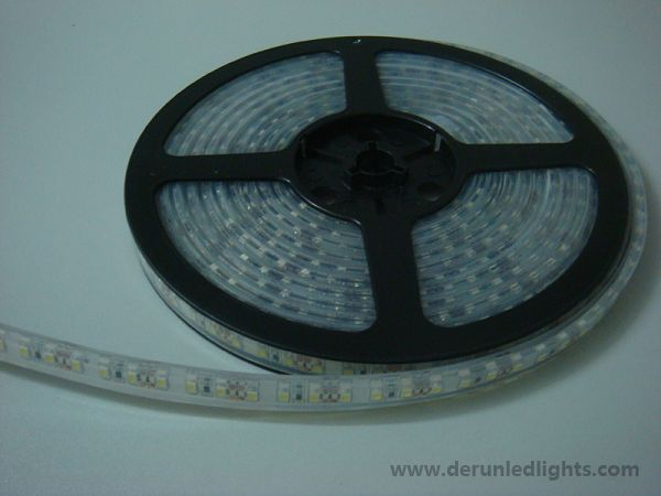 3528 48W 12V 600 Diodes 16.4ft Roll IP68 Silicon Filled Waterproof LED Strip Light