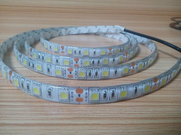 5050 72W 12V 300 Diodes 16.4ft Roll IP65 Silicon Glue Waterproof Led Strip Light