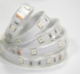 5050 36W 12V 150 Diodes 16.4ft Roll IP67 Silicon Tube Waterproof RGB Led Strip Light