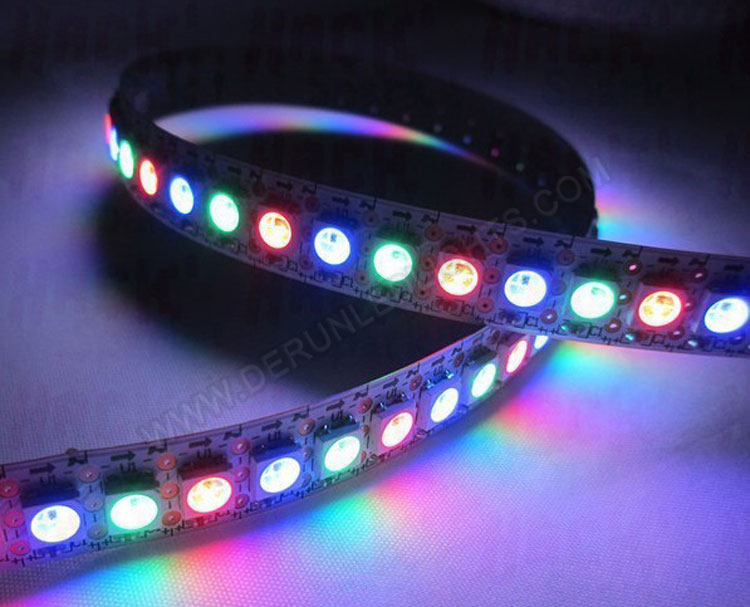 5050 5v 144 leds per meter ip20 nonwaterproof ws2812b rgb led 5050 5v 144 leds per meter ip20 nonwaterproof ws2812b rgb led strip light aloadofball Gallery