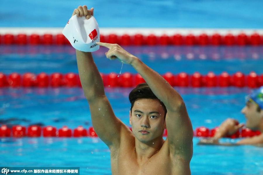 Ningze Tao in the championships