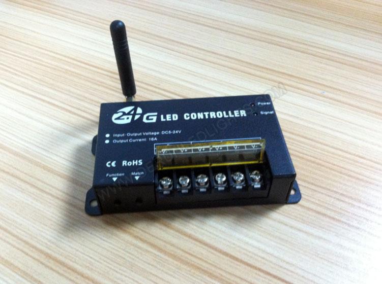 China led strip light wholesaler supply 2.4G led controller_3