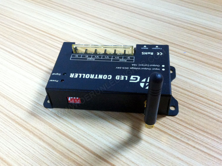 China led strip light wholesaler supply 2.4G led controller_4