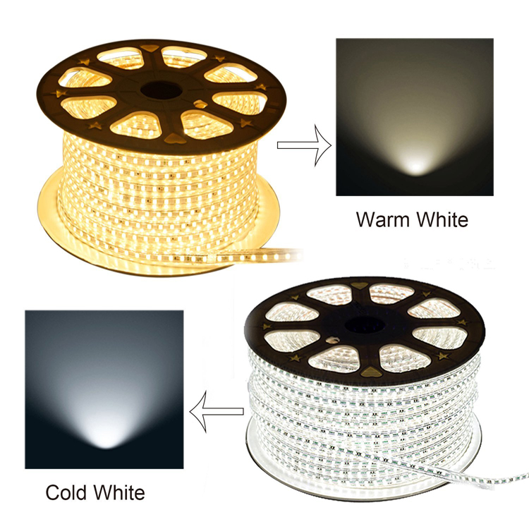IP67 Waterproof 50m/roll 5050 LED Strip Light AC110-240V_2