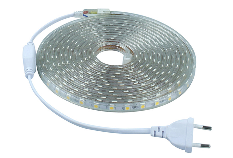 IP67 Waterproof 50m/roll 5050 LED Strip Light AC110-240V_1