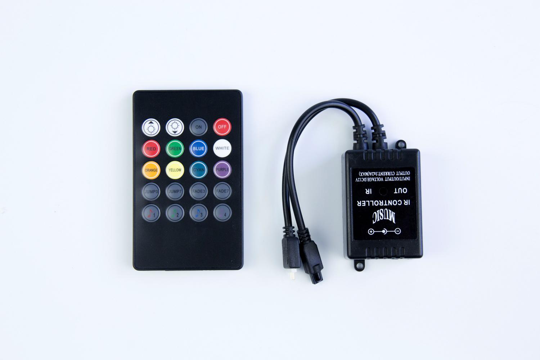 20 key IR music controller for 5050 RGB Led strip_1