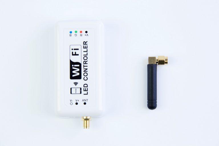 New model : WIFI Controller for rgb led strip light