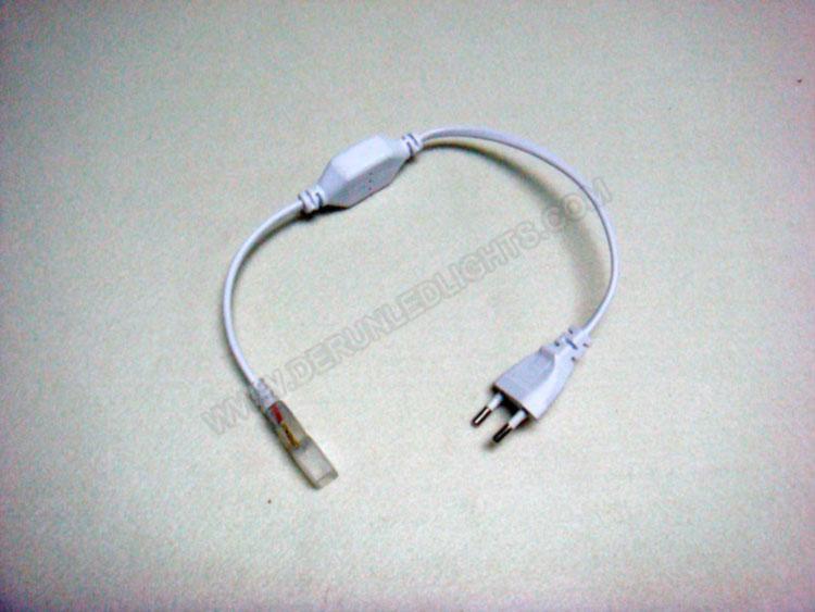 Eu standards/USA standards power cord for 110-240v led strip light_3