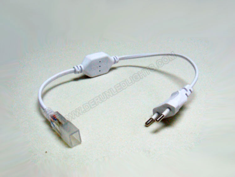 Eu standards/USA standards power cord for 110-240v led strip light
