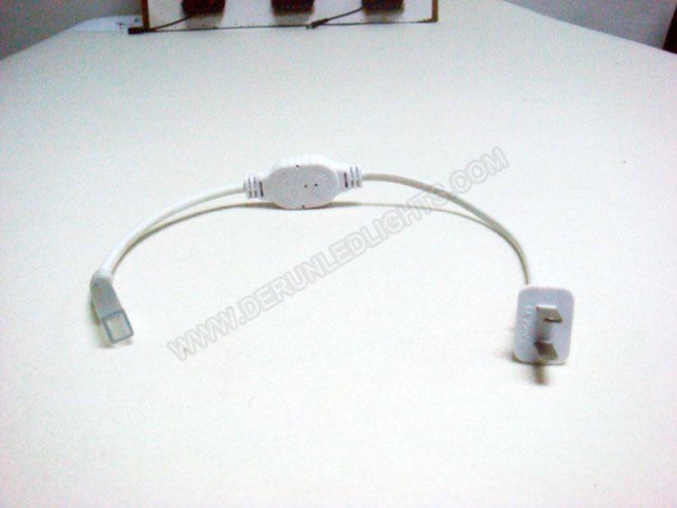 Eu standards/USA standards power cord for 110-240v led strip light_2