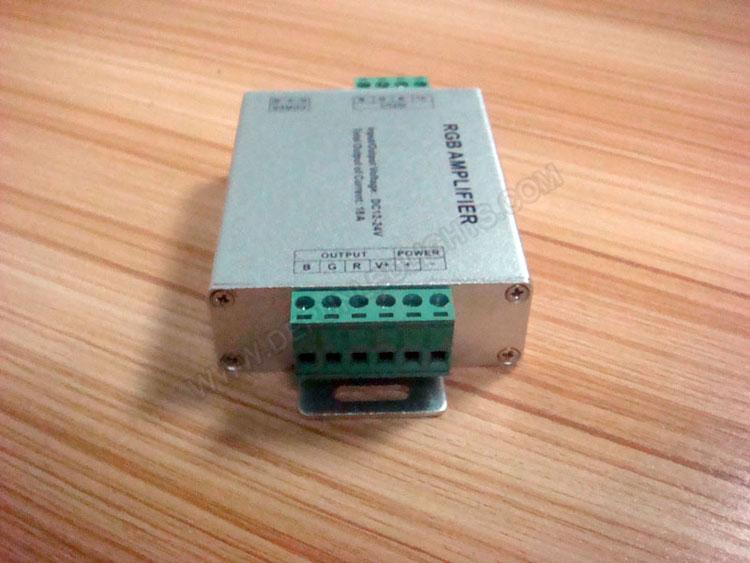 RGB Amplifier (Aluminum version) for 12v rgb led strip light_3