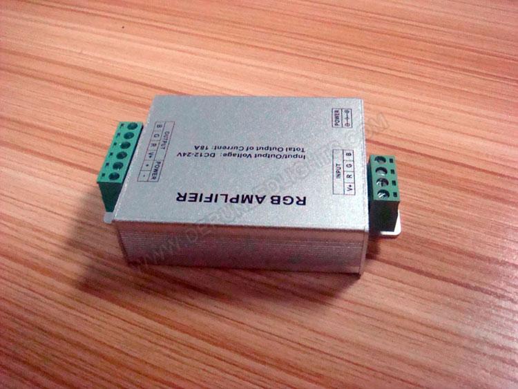 RGB Amplifier (Aluminum version) for 12v rgb led strip light_4