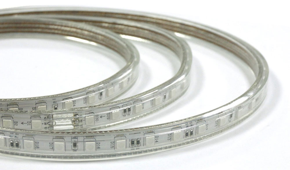 5050/5630/2835/3528 High voltage LED Strip IP67 Waterproof with PVC tube_6