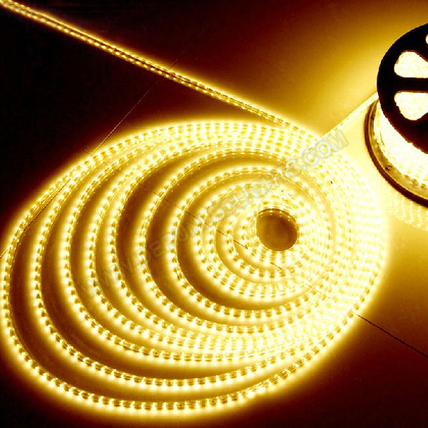 5050 60leds per meter 230V Led strip in IP67 waterproof PVC tube_1