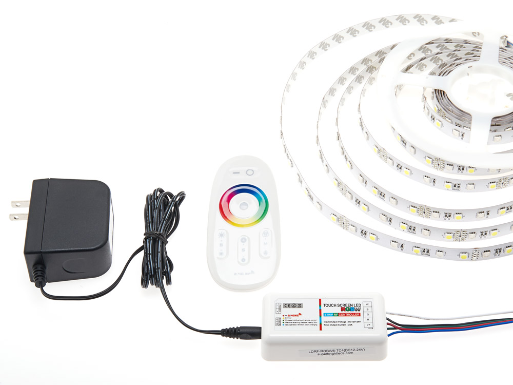 Rainbow Touch RGBW controller (2.4GHZ) For RGBW Led Strip_2