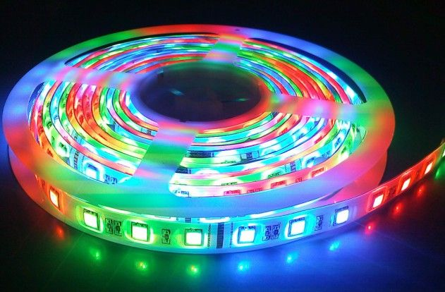 5050 5v 48w 150 diodes ws2801 addressable led strip light derun led 5050 5v 48w 150 diodes ws2801 addressable led strip light aloadofball Gallery