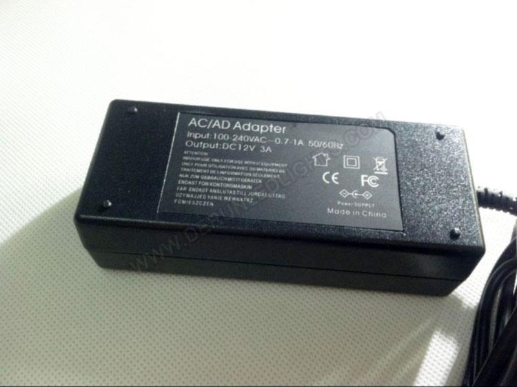 12v 3A 36W led power supply with US Plug_5