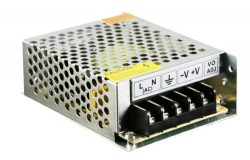 Aluminum Switching Power Supply 12V/24V 50W