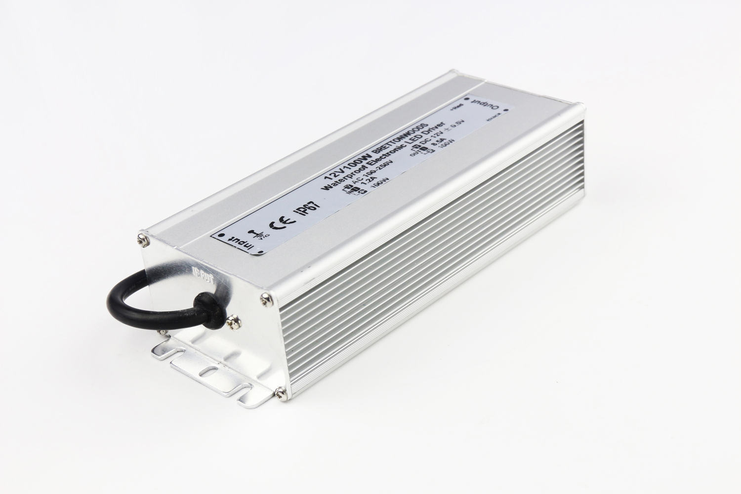 IP67 Waterproof Power Supply 12V/24V 100W