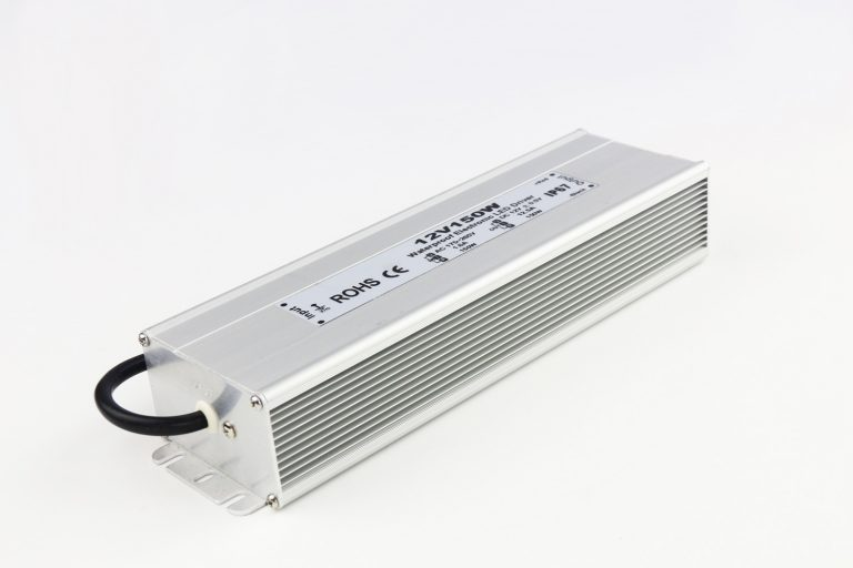 Output 12v 150w led power supply in waterproof IP67