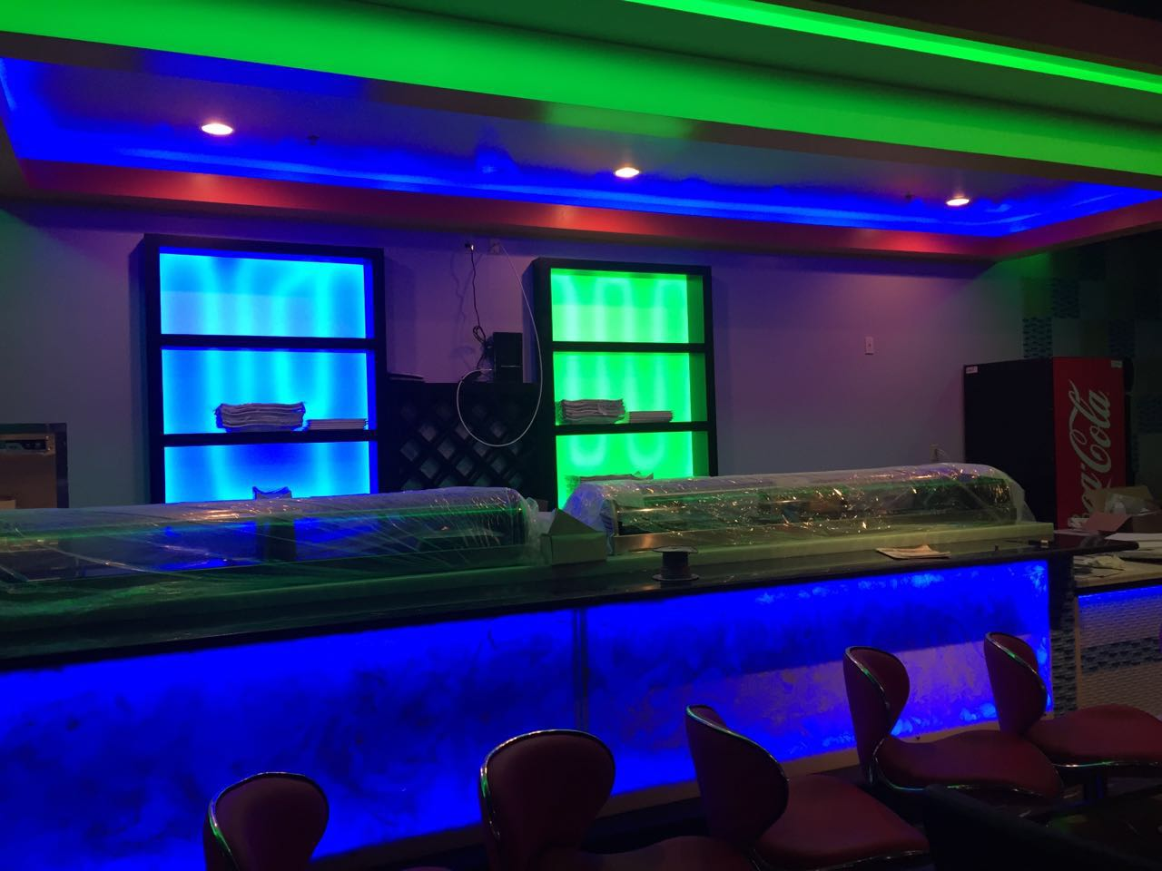 Seishin Restaurant Lighting Using 5050 Rgb Led Strip