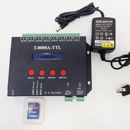 T-8000A-TTL controller instructions