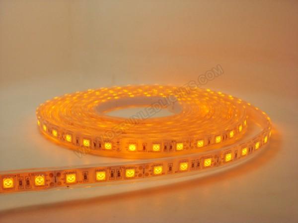 Amber color led strip and 2400k led strip