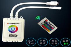 DC12V/24V IR bluetooth mini RGB controller_1