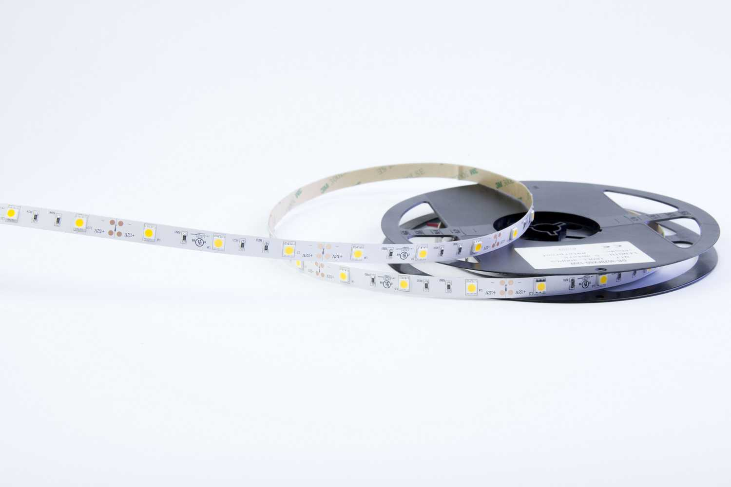 5050 36W 12V 150 Diodes 16.4ft Roll IP20 Non-waterproof Led Strip Light_2