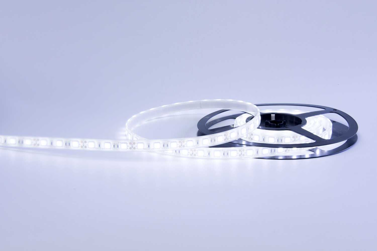 5050 72W 12V 300 Diodes 16.4ft Roll IP68 Silicon Filled Waterproof Led Light Strip