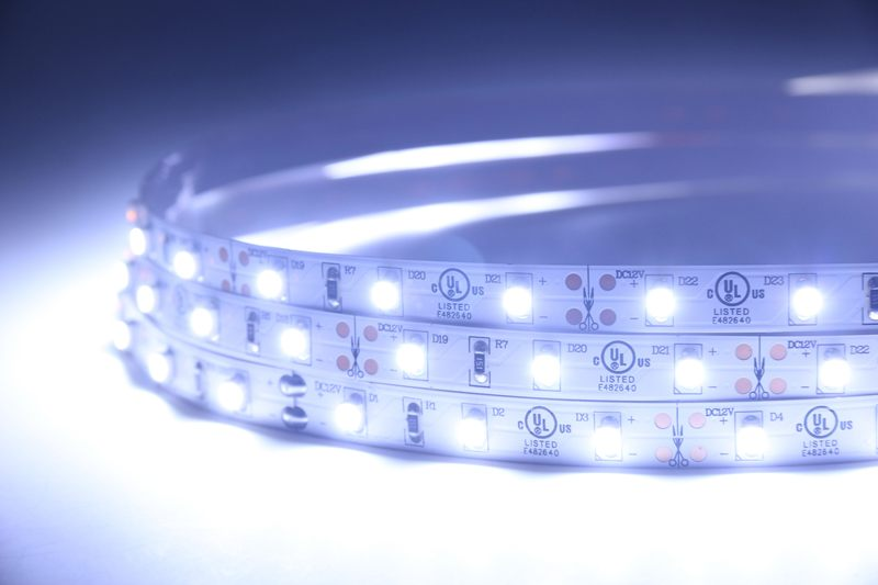 Flexible LED Strip Light with 16.4' 24W 300 Diodes 3528_3