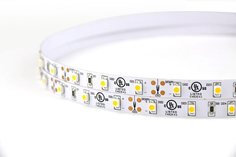 Flexible LED Strip Light with 16.4' 24W 300 Diodes 3528_4